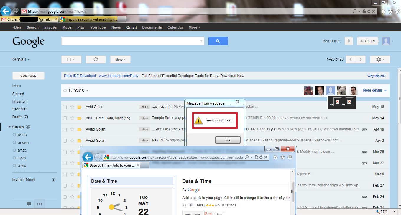 Ben Hayak - Security Blog: Google Mail Hacking - Gmail