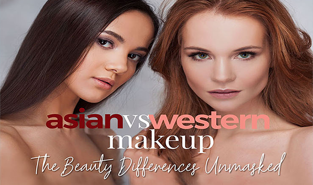 East Meets West: The Differences Between Asian And Western Makeup