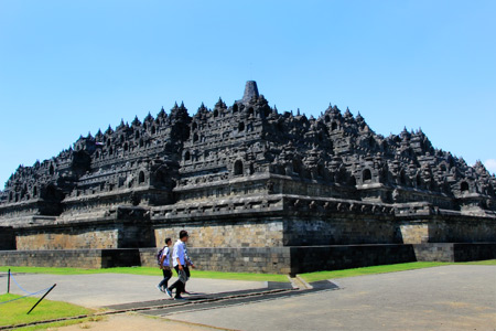 Candi Borobudur, Candi Buddha di Magelang Jawa Tengah