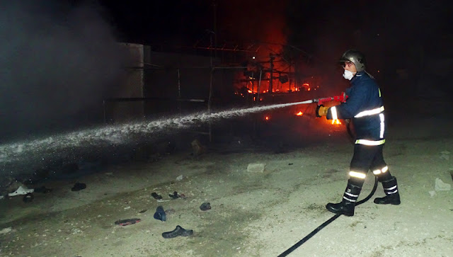 Κάρβουνο έγινε εγκαταλελειμμένη μονοκατοικία στη Μενεμένη
