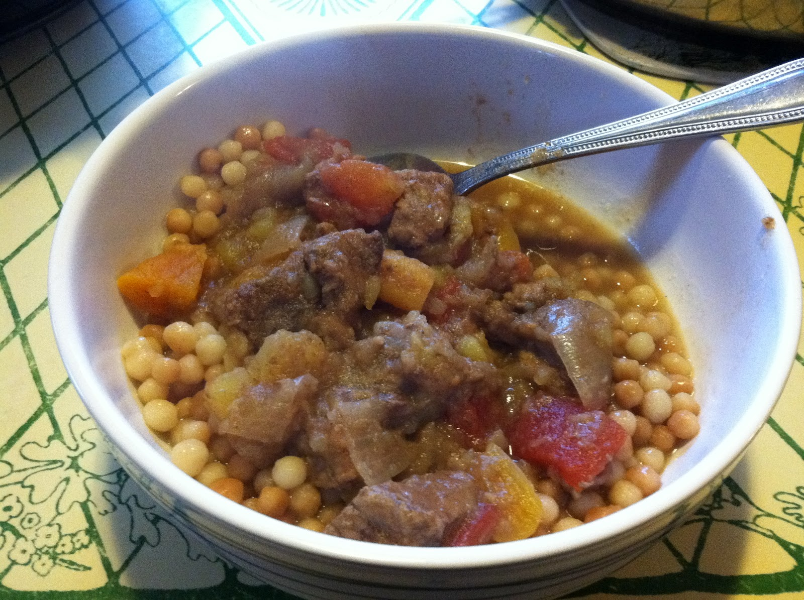 Nell Cooks: North African Beef Stew; slow cooker recipe