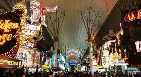 Vintage Vegas Neon Fremont Street