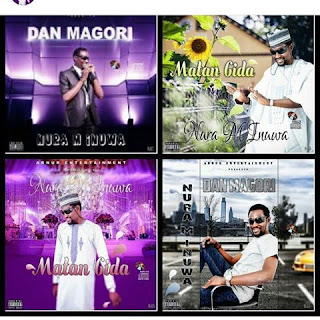 Nura M Inuwa Dan Magori Album and Matan Gida Album at the market