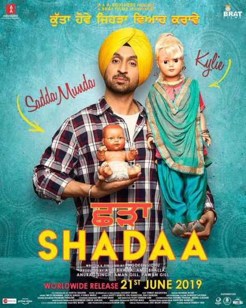 full cast and crew of Punjabi movie Shadaa 2019 wiki, Shadaa story, release date, Shadaa Actress name poster, trailer, Photos, Wallapper
