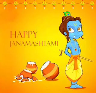 Happy Janmashtami Hindi Status, Quotes, Shayari 2020