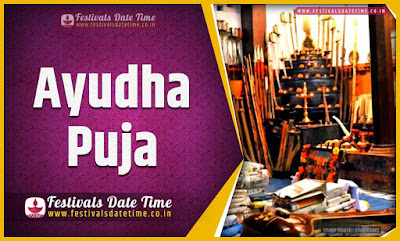 2025 Ayudha Puja Date and Time, 2025 Ayudha Puja Festival Schedule and Calendar