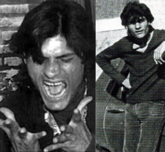 Antonio Agujeta en la adolescencia con a partir de los 16 años acompañó asiduamente a su padre a recitales y festivales