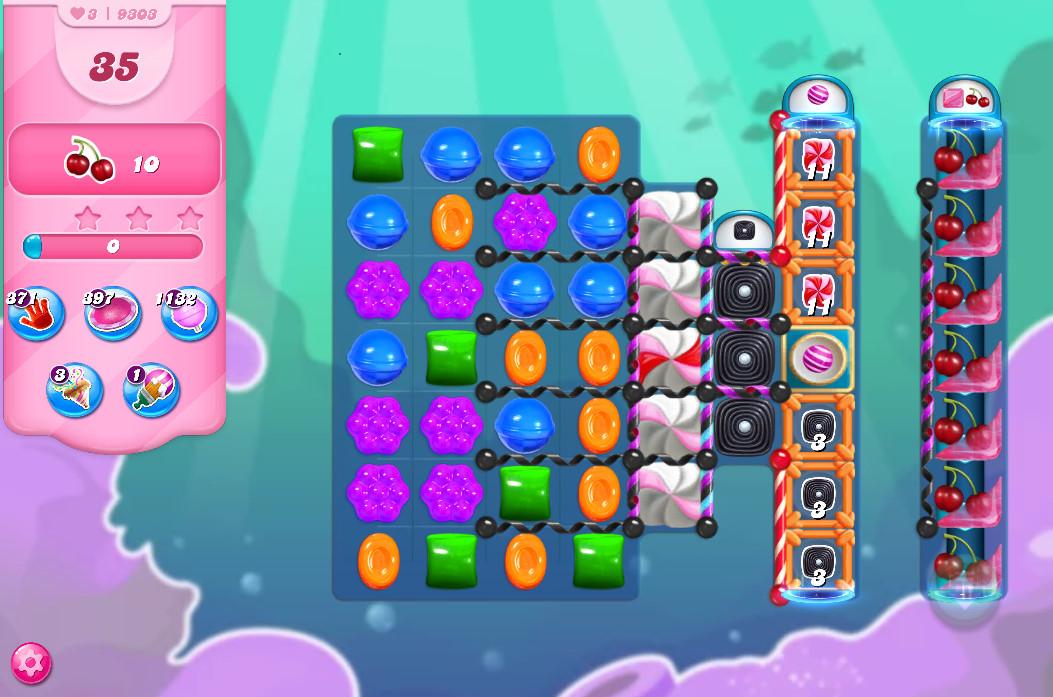 Candy Crush Saga level 9303