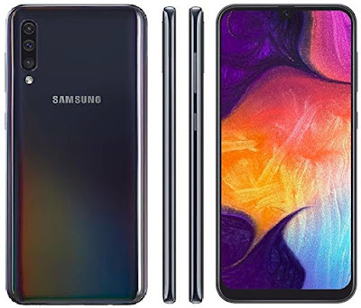 Galaxy A50 Android Pie V9.0 4G Phablet - Smartphones