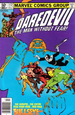 Daredevil #172, the Kingpin and Bullseye