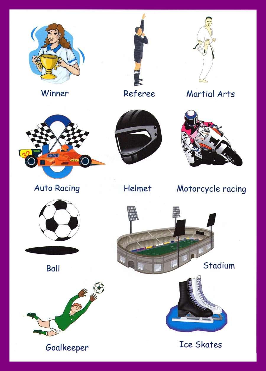 иконой лексика спорт в картинках это удивительная разновидность