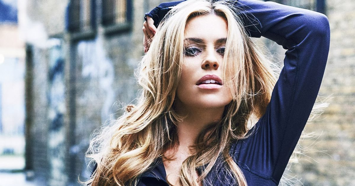 Photos of Abigail Abbey Clancy Photoshoot for Reebok ...
