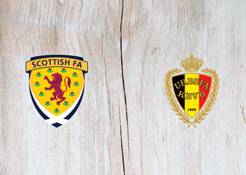 Scotland vs Belgium -Highlights 9 September 2019
