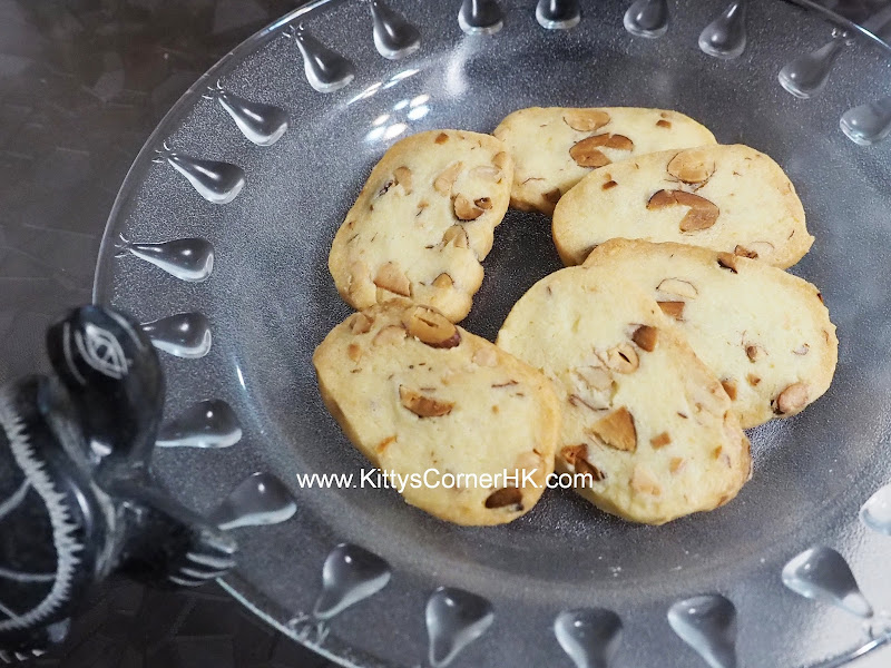 Almond Cashew Nut Cookies DIY recipe 杏仁腰果曲奇 自家烘焙食譜