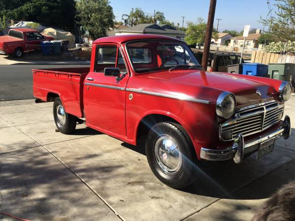 Early Datsun (Nissan) Pickup Truck for sale in California.