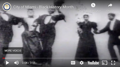 Screengrab from City of Miami Black History video