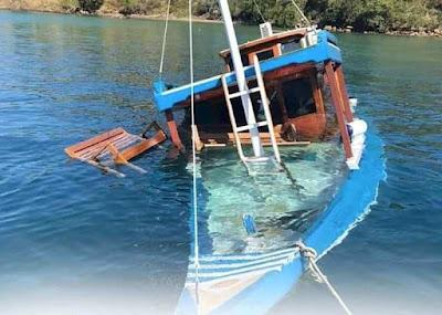 Sepi Kegiatan Wisata, Kapal Wisata Di Labuan Bajo Banyak Yang Rusak Sampai Tenggelam
