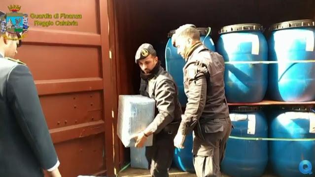 Reggio Calabria: cocaina proveniente dal Sudamerica, GdF e Polizia Locale in Kosovo, 400 i kg di cocaina sequestrati [VIDEO]