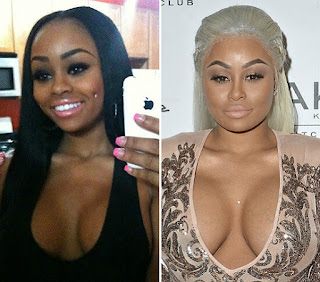 blac chyna make up,
