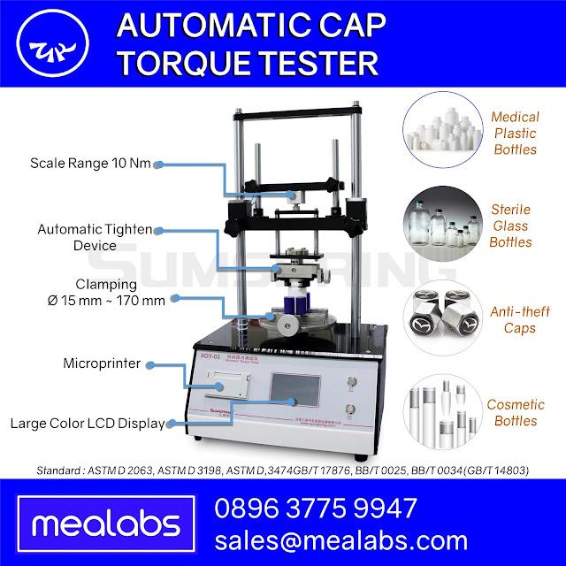 Automatic Cap Torque Tester
