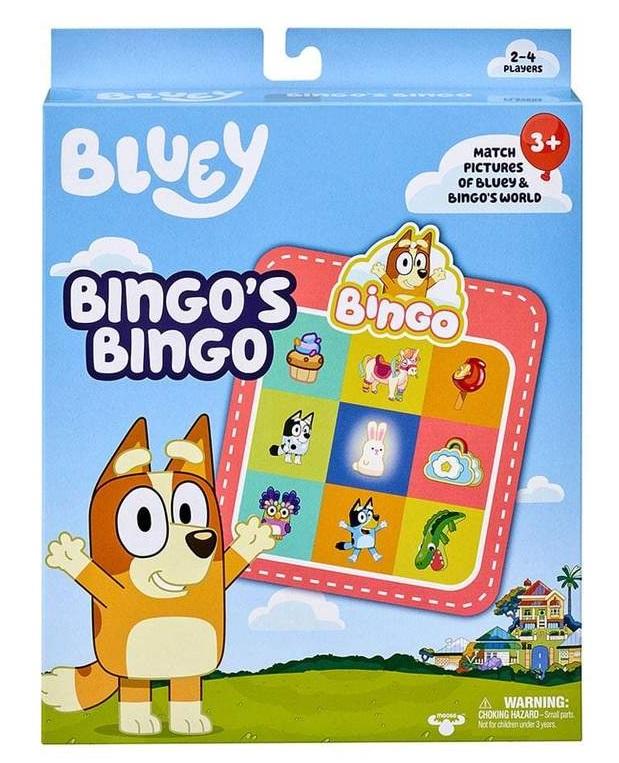 bingo's bingo game