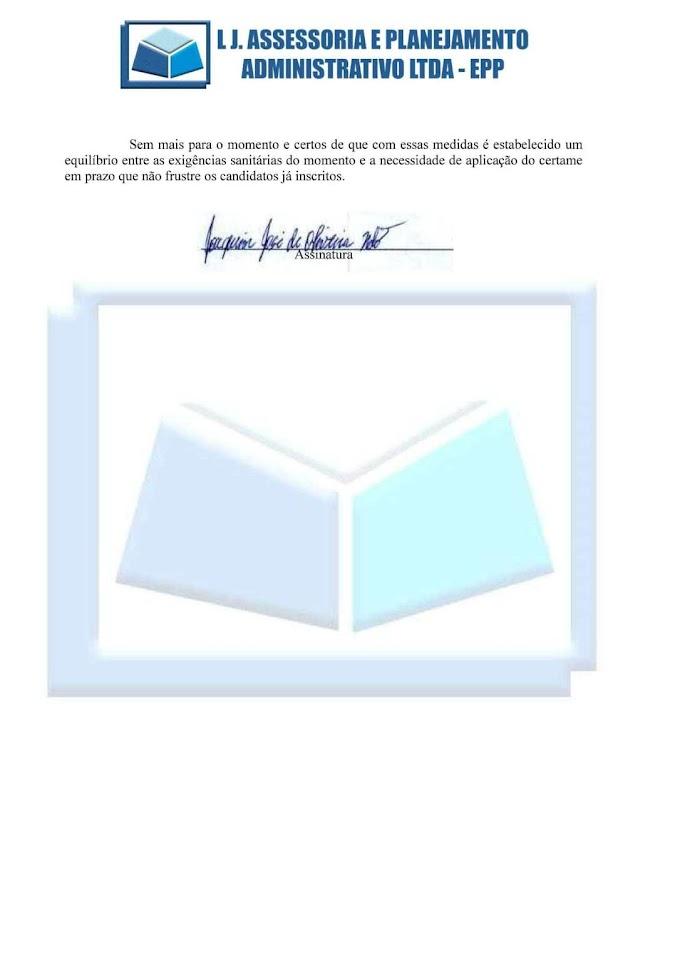 Ministério Público aprova método de aplicação das provas do CONCURSO PÚBLICO DE ARAIOSES