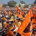 श्री राम मंदिर निर्माण महासमर्पण अभियान को लेकर नगर में निकाली ऐतिहासिक वाहन रैली