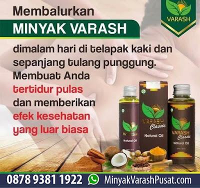 Reaksi Penggunaan Minyak Varash