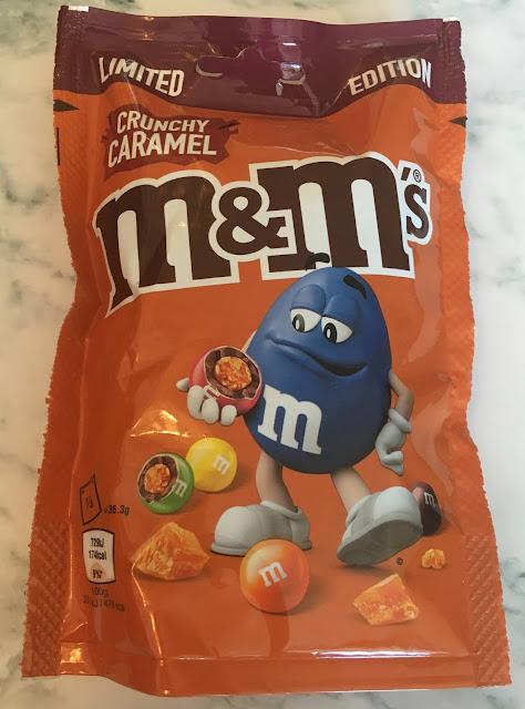 Limited Edition M&Ms Crunchy Caramel