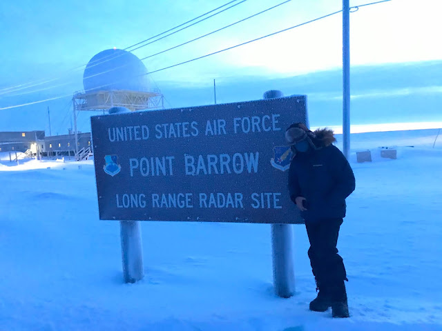 USAF Point Barrow Long Range Radar Site