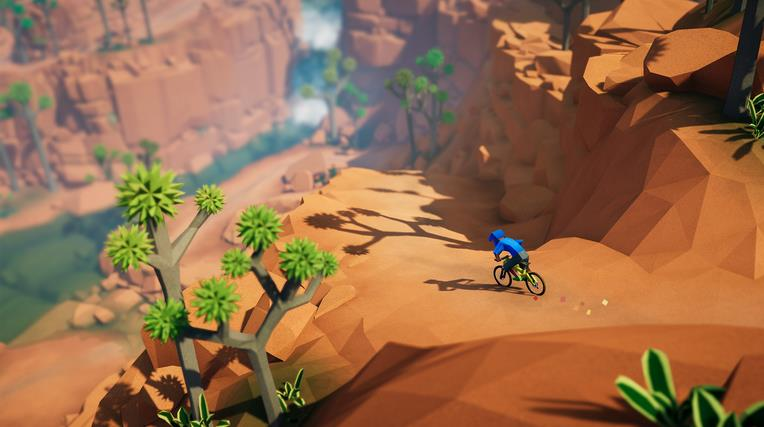 Lonely Mountains: Downhill PC Full Español