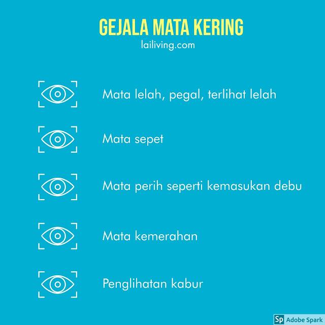 gejala mata kering