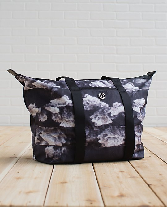 lululemon after asana tote jumbo dream rose