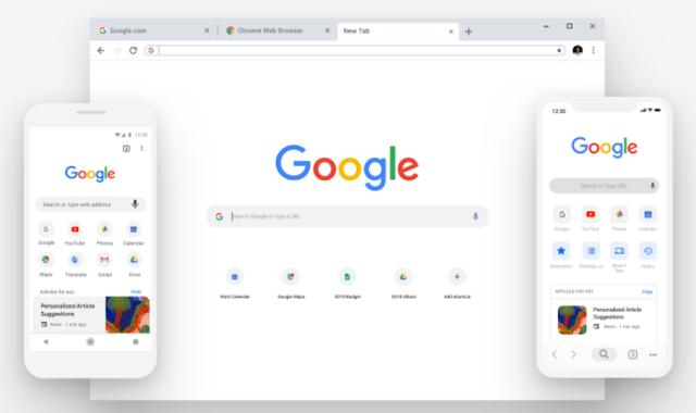 جوجل تقوم بإختبار علامات تبويب البطاقات في Chrome 73