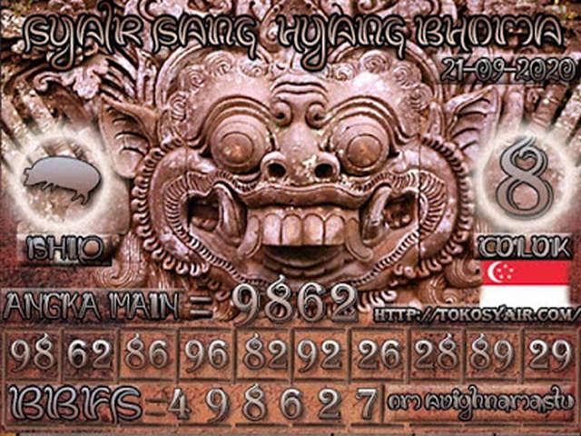 Kode syair Singapore Rabu 21 Oktober 2020 152