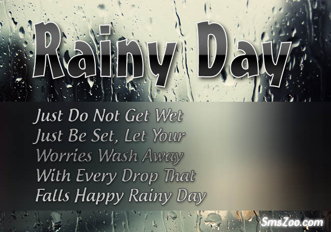 Best Happy Rainy Day Messages