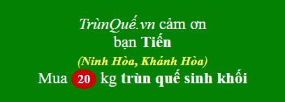Trùn quế Ninh Hòa, Khánh Hòa