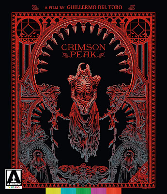 Blu-ray artwork for Arrow Video's Special Edition of CRIMSON PEAK.