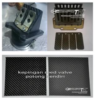 Gambar reed valve dan kepingan potong sendiri