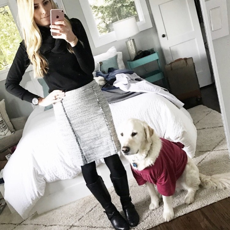 1504471aaba9 I wish Banana Republic still had this pencil skirt in stock because I loved  styling it for winter