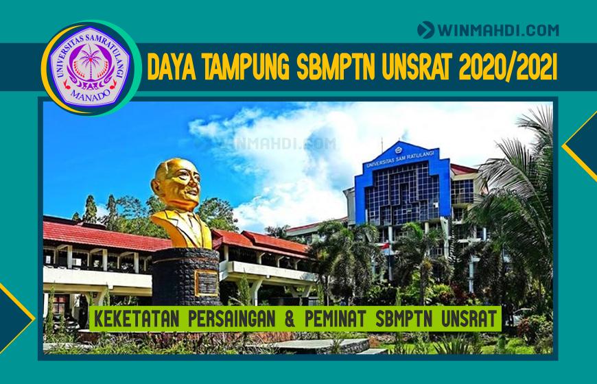 DAYA TAMPUNG SBMPTN UNSRAT 2020-2021