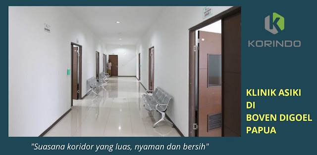 Klinik Asiki di Papua