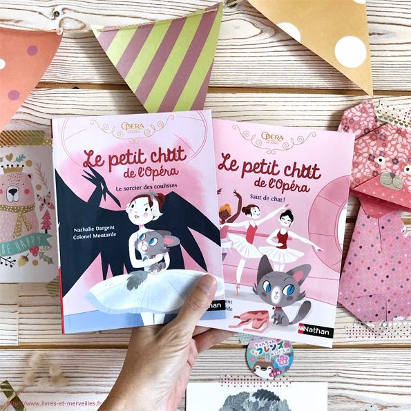 Le petit chat de l'Opéra :  Saut de chat ! & Le sorcier des coulisses