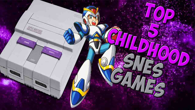 Top 5 SNES Games of My Childhood