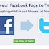 Connecting Twitter to Facebook