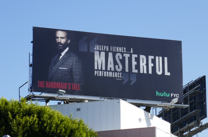 Handmaids Tale S3 Joseph Fiennes Masterful FYC billboard