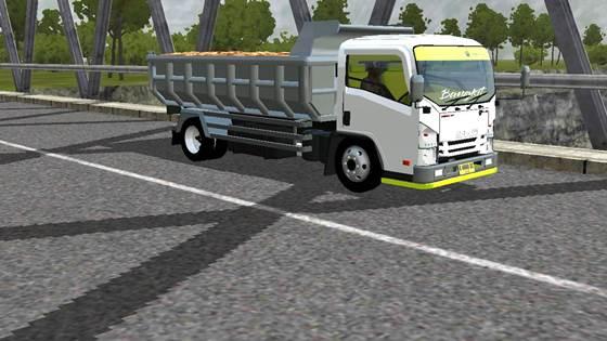 Mod Dump Truck Isuzu NMR71