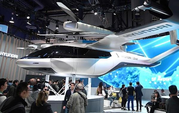 Mobil Terbang Hyundai Bikin Parkir di London