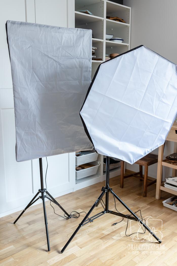 Fotografia kulinarna w sztucznym oświetleniu - część 1 z 2: Jaką lampę do fotografii wybrać?