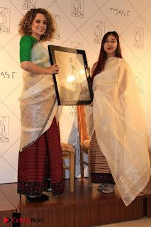 "Actress Kangana Ranaut Pos in Lehenga Choli at ""Between the Poet and her Pencil"" Book Launch  0006.jpg"